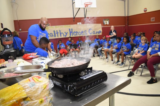 Healthy Heroes Campers learn healthy eating can be delicious – Alexandria Town Talk