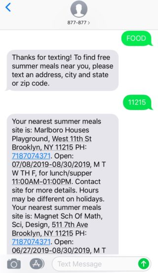 Hot and Hungry: Summer Meals Program – NYC Food Policy Center