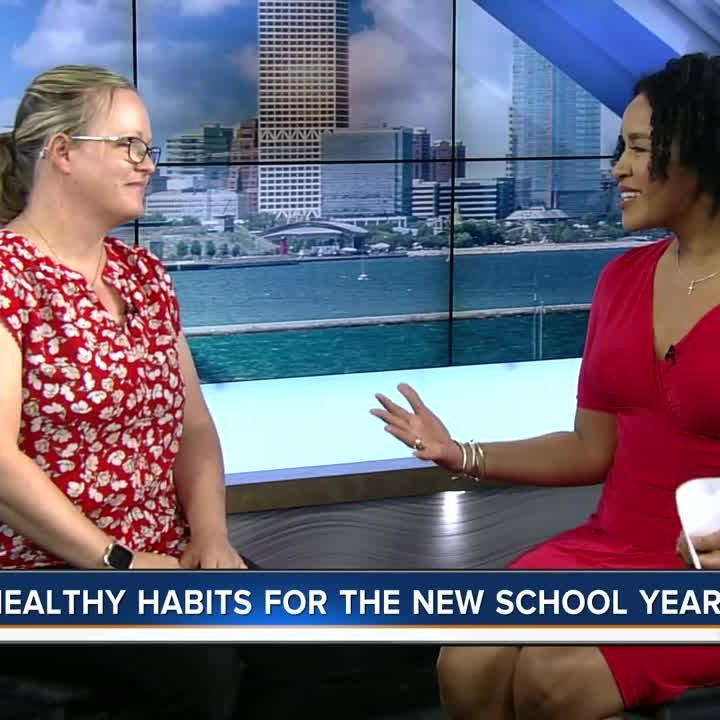 Local News Healthy tips for kids to get ready for the new school year Sal Sendik – WTMJ-TV