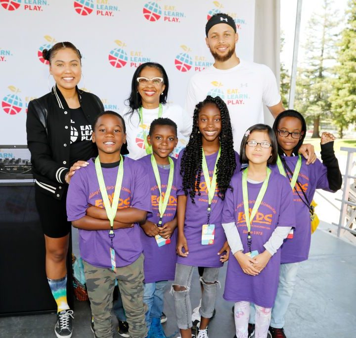 Stephen And Ayesha Curry Launch Eat. Learn. Play Foundation – MadameNoire