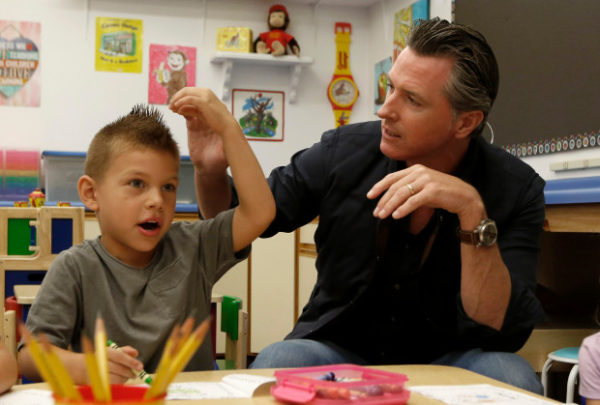 Gavin Newsom meets with kids in Paradise – Chico Enterprise-Record
