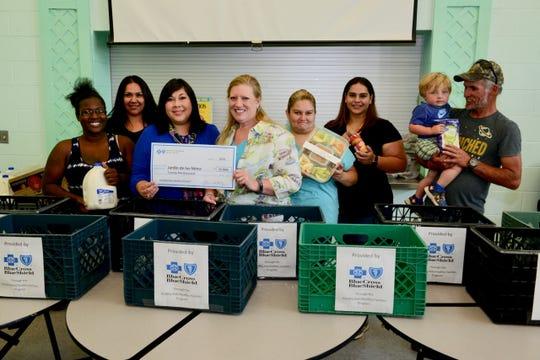 BCBSNM helps provide healthy food for local homeless kids at Jardin de los Niños – Las Cruces Sun-News