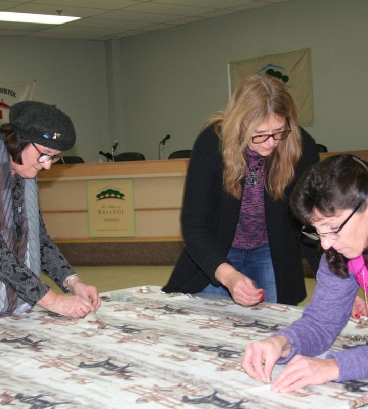 Community service project makes blankets for kids in need – Kenosha News