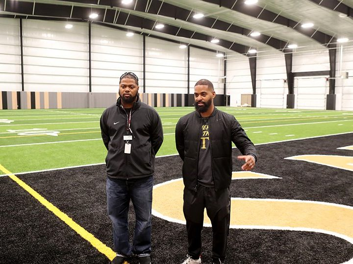 WATCH: Hot Springs' indoor practice field first of its kind in county – Hot Springs Sentinel