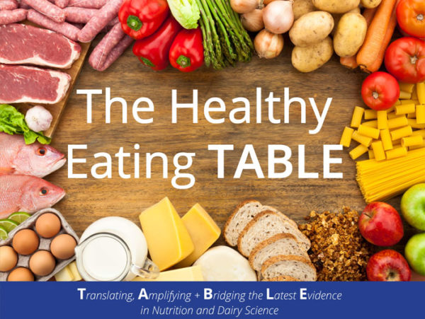 Dairy Council of California Releases Latest Issue of 'The Healthy Eating TABLE' – PerishableNews