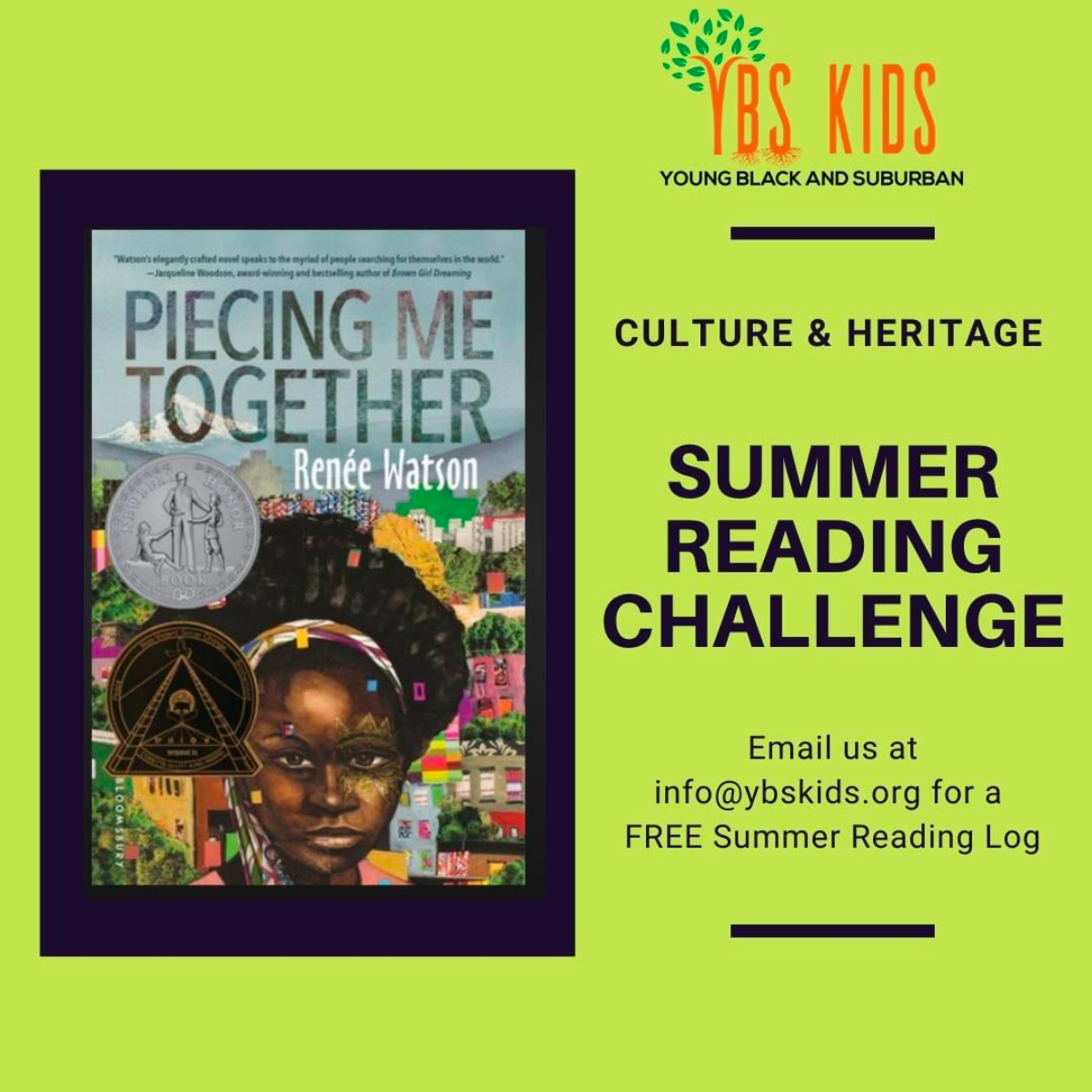 Summer Reading Challenge // courtesy Y.B.S. Kids