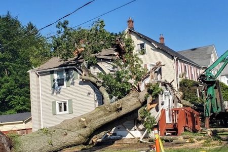 N.J. hero dad rescues daughter from rubble after tree destroys their home – nj.com