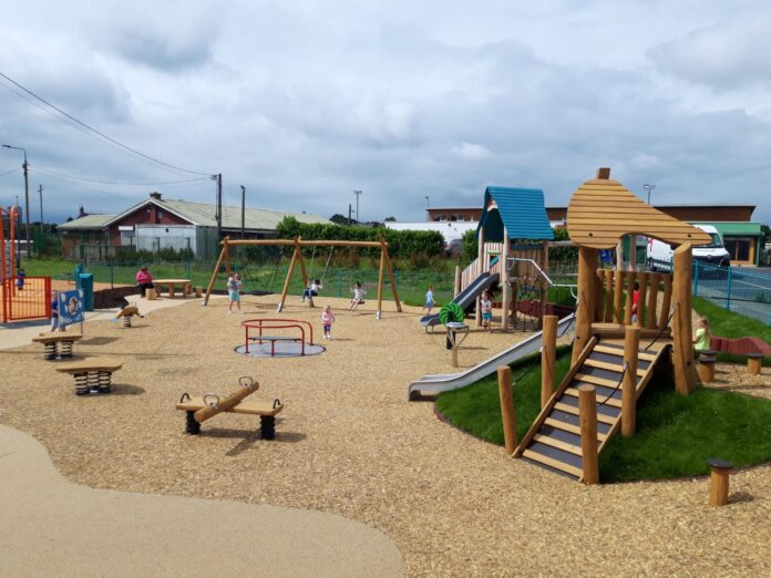 New King's Island playground outdoor Fitness area opens – Limerick Post
