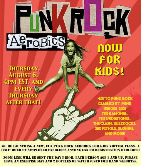 Punk Rock Aerobics for Kids makes DIY fitness an all-ages show – Vanyaland