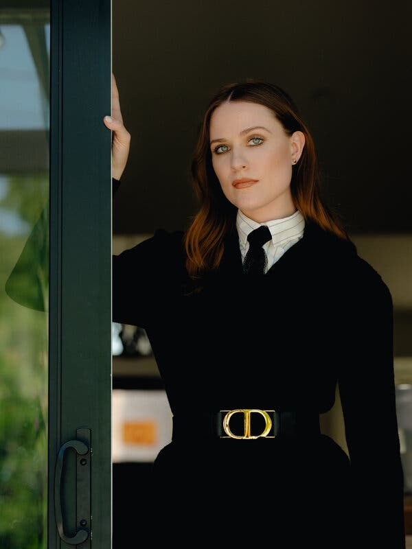Evan Rachel Wood Uses Her Roles to Heal – The New York Times