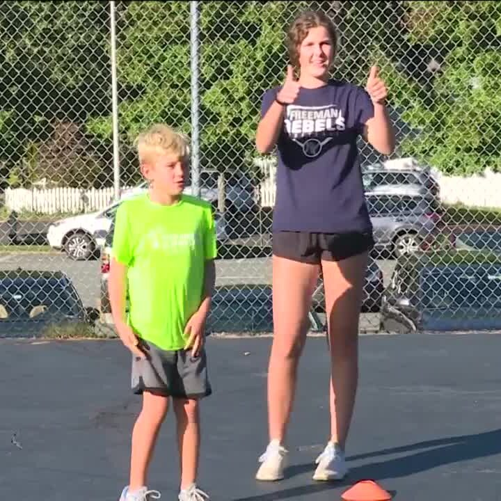 Henrico students create a fitness program for neighborhood kids – wtvr.com